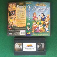 BIANCANEVE E I SETTE NANI - VHS Walt DISNEY I Classici (ITA 1997) VS 4484