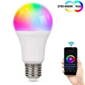 Lampadina-Led-Smart-11W-1050lm-WiFi-RGB-CCT-TUYA-gestione-Alexa-KINGE2711W