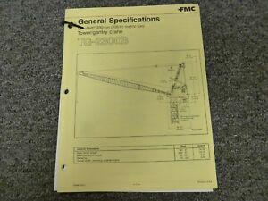 Link Belt TG-2300B Tower Crane Specifications & Lifting