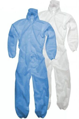 Nuevo Batas Desechables Mono Boilersuit Capucha Pintores Traje De Protección