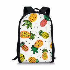 ba6df862a134 Cool Pineapple Colorful Unique Outdoor Shoulders Bag Fabric Backpack ...