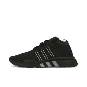best loved ef67e e50b9 Image is loading Adidas-EQT-Support-Mid-ADV-PK-B37456-Black-
