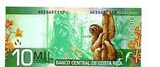 Costa Rica ... P-277 ... 10.000 Colones ... L.2009(2012) ... *UNC*
