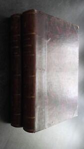 Curso De Literatura Francaise M. Villemain T1 + 2 Didier París 1858 ABE