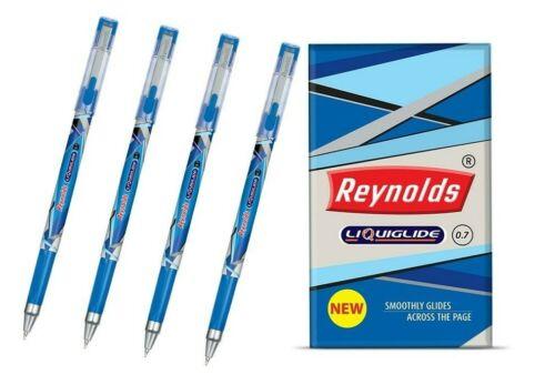 20 Reynolds LIQUIGLIDE Ball Pen BLUE0.7 mmTriangular gripsmooth writing