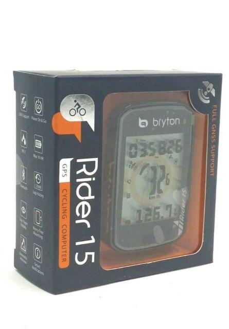 Bryton Rider 15E GPS Bike Bicycle Bluetooth Wireless Computer
