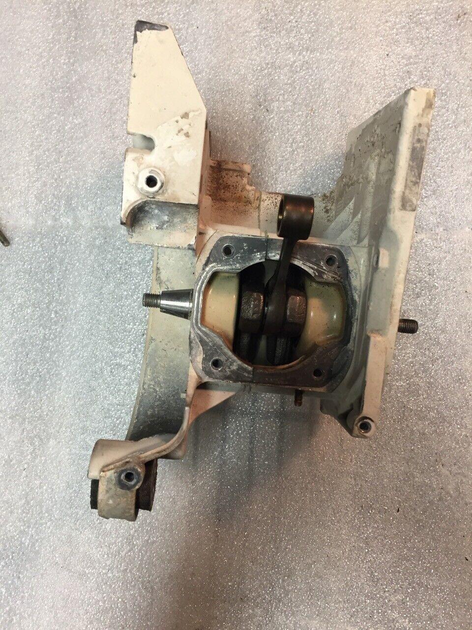 STIHL TS400 Crankcase crankshaft crank bearings  2 Bolt coil used oem