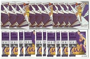x100-Mixed-KYLE-KUZMA-Basketball-card-lot-set-Contenders-Revolution-L-A-Lakers