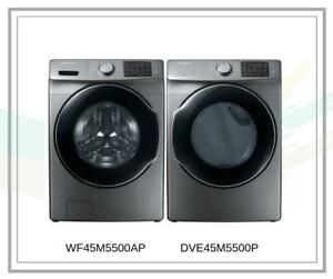 Great Price On Pair Of Washer & Dryer Samsung I WF45M5500AP/A5 - DVE45M5500P/AC London Ontario Preview