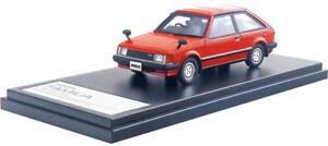 Hi Story 1/43 Mazda Familia 1500 XG 1980 Sunrise Rouge HS212RE avec suivi NEUF