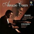 Brahms: Variations and Fugue in B flat on a Theme of Handel; Schumann: Fantasia in C; Arabesque (CD, Aug-1999, Vox)