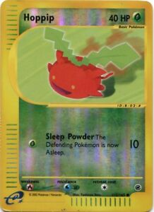 Hoppip Pokemon Expedition Common Card #112//165