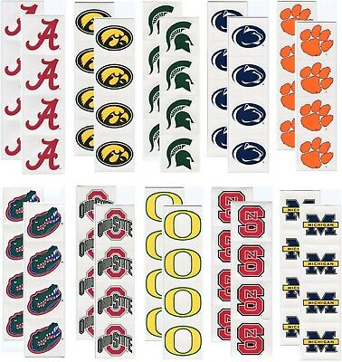 College /& University Pennant /& Circle Scrapbook Stickers U-PICK Sports Solution