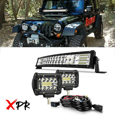 22inch 120W COMBO LED Light Bar Off-road Driving Lamp SUV Boat 4WD Truck ATV UTE