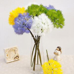 17 artificial dandelion silk plant flower bouquet wedding party image is loading 17 034 artificial dandelion silk plant flower bouquet mightylinksfo