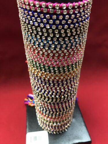 $479 Retail Value 60 Rhinestone Bracelets On Counter Display Wholesale