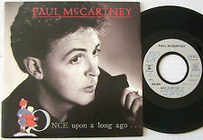 Paul McCARTNEY Beatles SP 45T vinyle Once upon a long ago  M / M