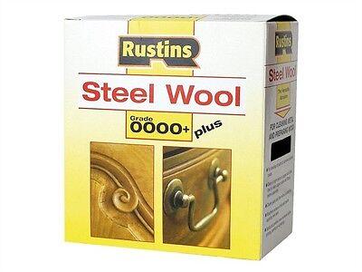 Rustins Steel Wool Grade 0000 00 1 or 3