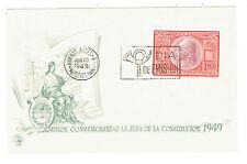 Scott 585 First Day Issue 1949 Lmision Conmemorando La Jura de la Constitucion