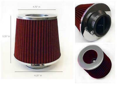 """2.5 Inches 63 mm Cold Air Intake Cone Filter 2.5/"""" NEW"""
