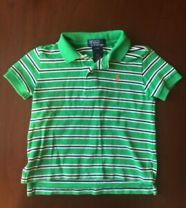 Boys-Green-Polo-Top-Size-2T