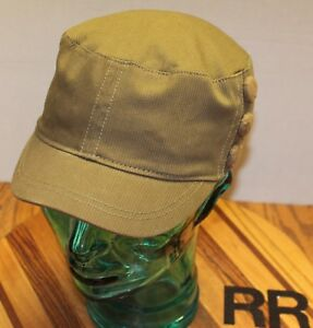 718a472bec7 Image is loading WOMENS-ELEMENT-GREEN-CADET-MILITARY-STYLE-HAT-S-M-
