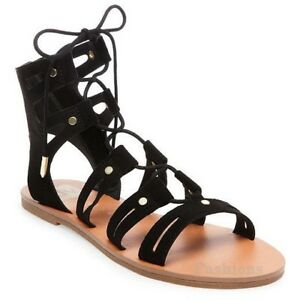 36d80e80e32b DV for Target by Dolce Vita Gracelyn Lace Up Black Gladiator Sandals ...