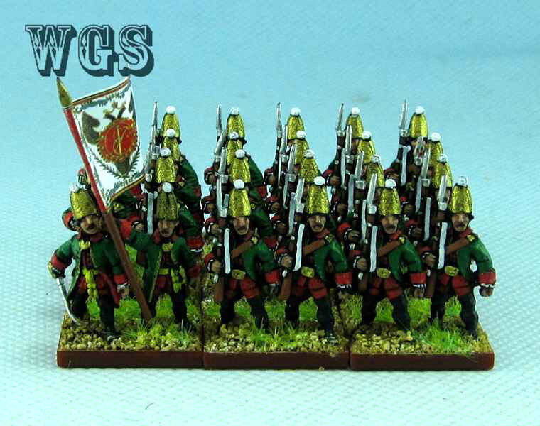 15 syw sieben jahre krieg malte russischen grenadier ra5