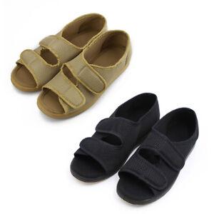 3280b04b4e77 Woman Diabetic Shoes Extra Wide Open Toe Sandals Arthritis Edema ...