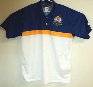 FORT-GARRY-LIONS-Football-Winnipeg-NEW-60th-Anniversary-Polo-Shirt-2XL