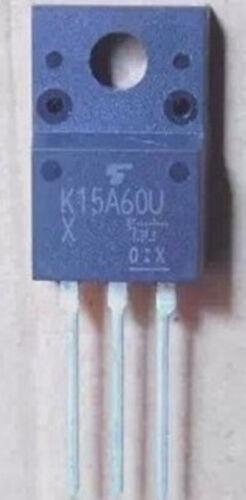 2 PCS New K15A60U TK15A60U 15A 600V MOS TO-220F ic chip