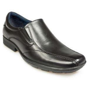 Dundee Escuela Negro Trabajo De Pod Hombre zapatos pv01Pnqfq