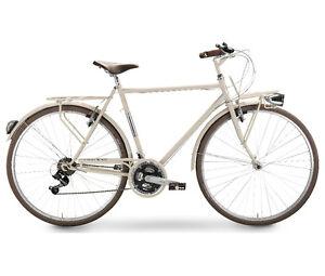 Dettagli Su Bicicletta Klass Positano Da Uomo 28 Cambio Shimano Bici Bike Classica Retrò
