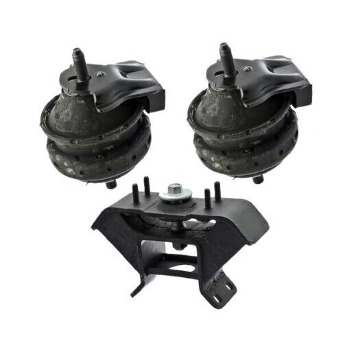 05-06 for Kia Sorento 3.5L for Auto Front L /& R Engine Motor /& Trans Mount 3PCS