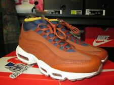 2018 Nike Air Max 95 Sneakerboot Russet Thunder Blue Yellow 806809 204 Mens Sz 9