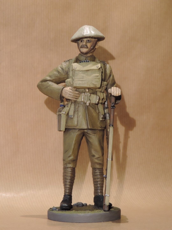 World War 1 1916 British Infantryman 120mm Resin Studio Painted Military Figure