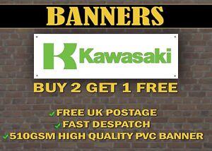 Details about LARGE 2 METRE Kawasaki Banner for Garage / Shop Display Ninja  ZX GPZ
