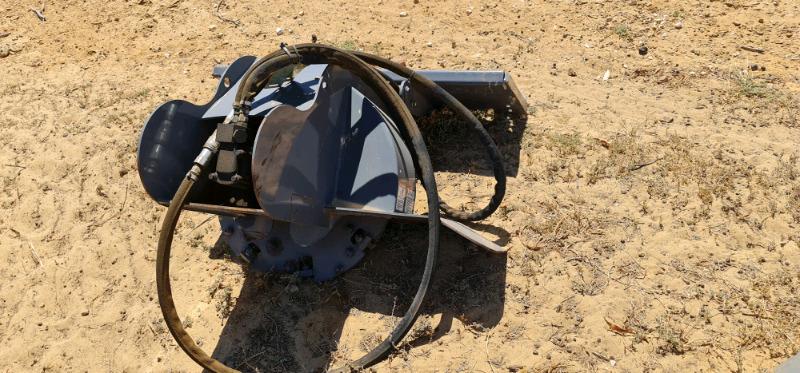 Stump grinder bobcat skid steer excavator