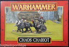 1997 GUERRIERO del Caos CARRO Games Workshop WARHAMMER Esercito malvagio cavaliere FIGHTER Nuovo di zecca con scatola