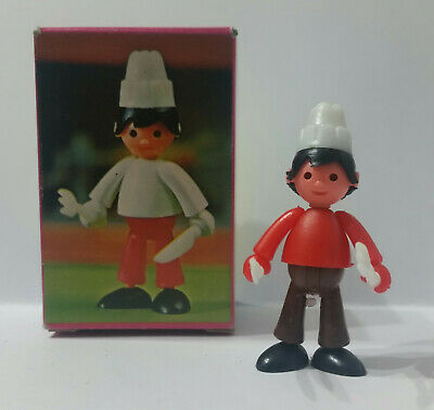 Abile Vintage 1970 Dulcop Supercharly Charly Kit 5cm Charly Cuoco Valore Eccezionale