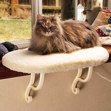 K & H Window Sill Perch Cat Pet Window Seat Kitten Kitty Sill UNHEATED NEW