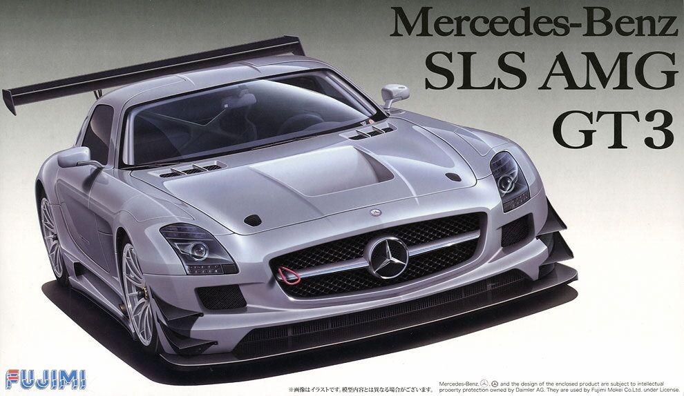 Fujimi 12569 RS-29 1 24 Scale Car Model Kit Mercedes Benz SLS AMG GT3 w PE Parts
