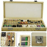 Rotary Tool Accessory Kit Buff Drill Jewelry Polish Engrave Tools Box Set Of 228