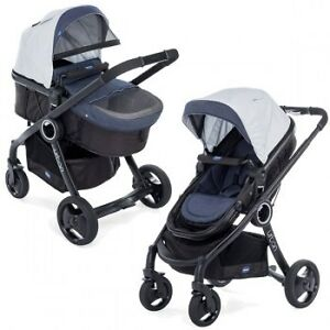 Wozek-Chicco-Buggy-Stroller-Urban-Plus-Crossover-2w1-incl-Colour-Pack