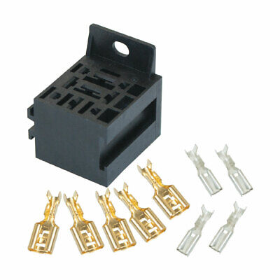 Supplied with Terminals MICRO Relay BASE for 4 or 5 pin relays