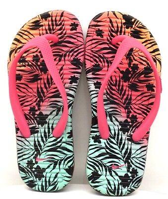 FREE SHIPPING BRAND NEW Nike Solarsoft Thong II Purple Pink Orange US Size 13C