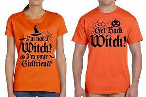 919e0e98 Image is loading Funny-Halloween-Couple-T-shirts-Orange-Couple-Shirts-