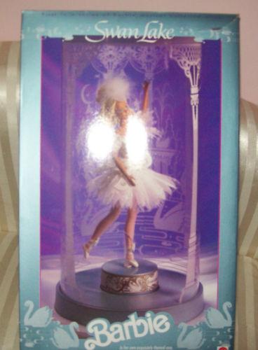 1991 Swan Lake Musical Barbie 1º En Serie En Caja