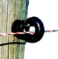 Electric Fence / Fencing Screw in RING INS - pkt 250 - solid core