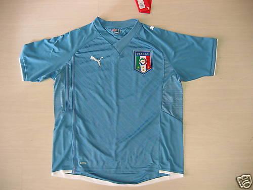 Puma Italia Maglietta Bambino New Junior shirt 152 cm